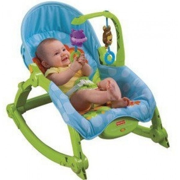 Fisher Price Newborn To Toddler Portable Rocker (Green Frame)